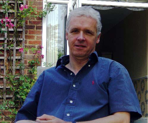 Chris in the garden